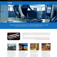Comfort Cleaning – Site Redesign